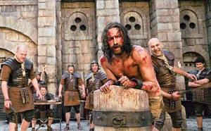 Jesus, bespuckt gegeißelt, ausgestoßen