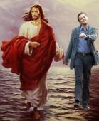 Mit Jesus über das Wasser gehen