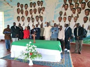 Märtyrer in Buta, Burundi
