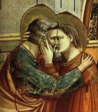 Die Eltern von Maria, Anna und Joachim. Die Geschichte stammt aus dem Evangelium von Jakobus, aus der Legenda Aurea des Jacobus de Voragine und vom Hl. Hieronymus