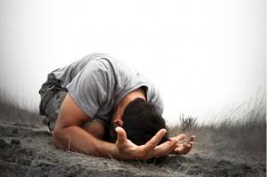 Ich bekenne meine Schuld und bittee dich, Gott, mir zu verzeihen.