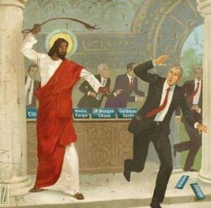 Jesus verteibt die Händler