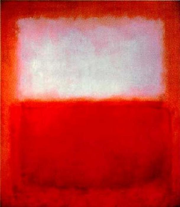 Himmel über Rot