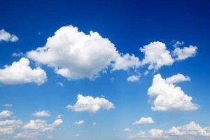 Wolken  nahmen ihn auf