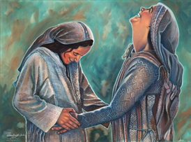 Elisabet Maria freuen sich